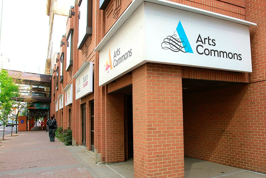 The Arts Commons building at 205 8th Avenue S.E. is shown on Friday, August 30, 2019.