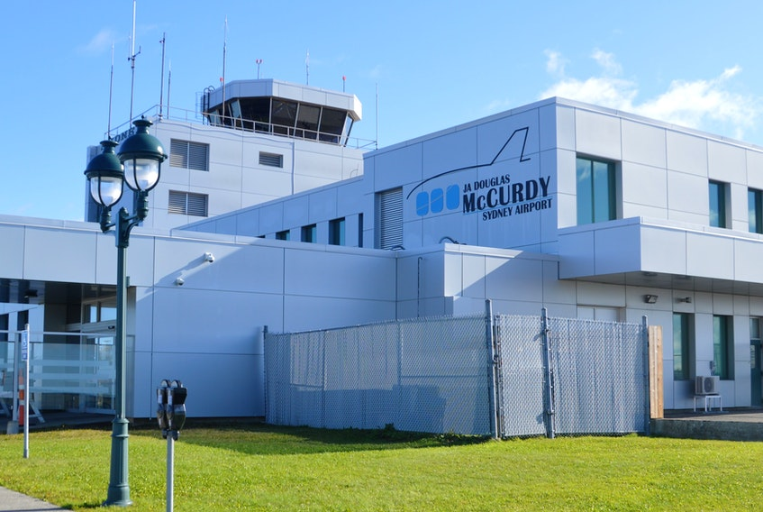 All was quiet at the J.A. Douglas McCurdy Sydney Airport on Thursday, one day after WestJet announced it would soon cut its service to Cape Breton. GREG MCNEIL • CAPE BRETON POST