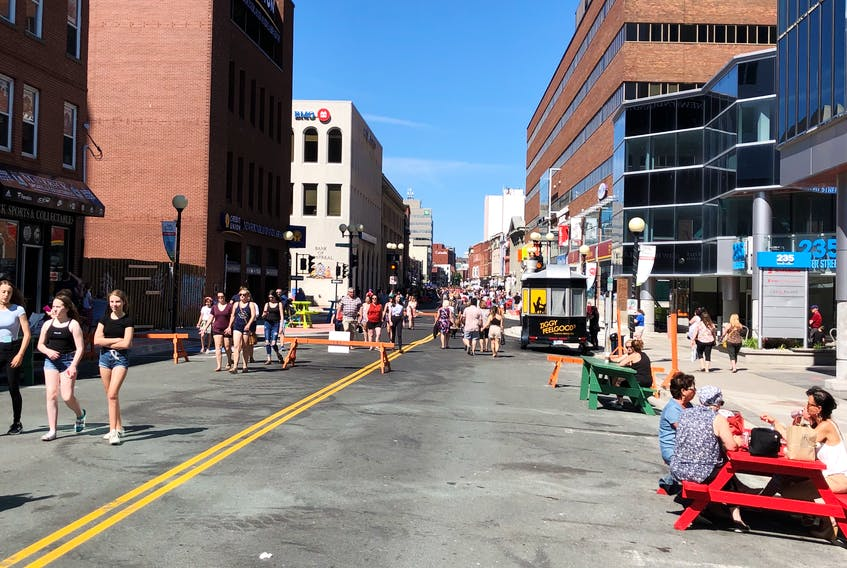 It may be that the pedestrian mall is too successful. At the city council meeting on Monday, Mayor Danny Breen said the city is looking at ways to support other downtown businesses located outside the pedestrian mall area. -CONTRIBUTED