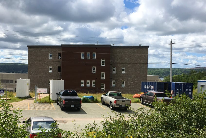 Construction is continuing on a new residence for the Strait Area Campus of the Nova Scotia Community College. When the residence may actually open to residents is dependent on public health directives in light of the  COVID-19 pandemic.