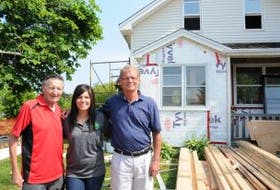 ['<p>Famed hockey dad, Walter Gretzky, a long-time supporter of the Boys and Girls Club of Summerside, joined Kate Gaudet and Gary Somers Monday morning to get a first-hand look at the progress that is being made at the club's Youth Engagement Centre.&nbsp;</p>']