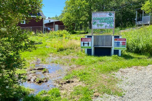 Green space located at 28 Eric St. in St. John's is proposed as a location for affordable housing, but not all area residents are happy with the plans. -TELEGRAM FILE PHOTO