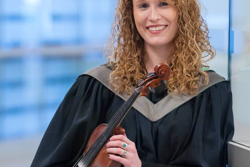 <span>Courtney Hogan-Chandler has long viewed playing music as a pleasant sideline, but the graduate of AVC is now looking to fulfill her dream career as a veterinarian.</span>