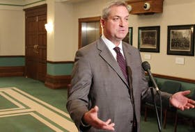 Fisheries Minister Gerry Byrne says another salmon die-off on Newfoundland's south coast, is under investigation. Cooke Aquaculture reported the deaths of some 77,000 salmon to the provincial government Feb.16. — File photo