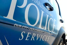 A 65-year-old woman, who police say was drunk, lost control of her vehicle and struck three parked vehicles in Charlottetown Thursday morning.
