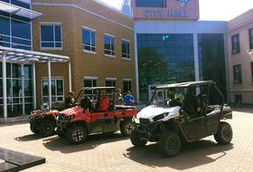 ATV use won't be permitted on Corner Brook roads after 10 p.m. Saturday. The ATV program will resume in June 2021.