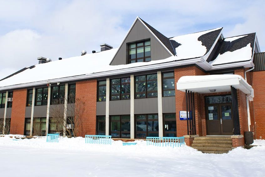 In Quebec City, Marguerite d'Youville elementary school was closed on Friday because of concerns over COVID-19 variant strains.