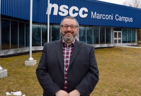 Fred Tilley, principal of the Nova Scotia Community College's Marconi campus, said staff and students at the post-secondary institution are using creativity and co-operation to make the best of a bad time as the school's campus remains closed during the ongoing COVID-related state of emergency. DAVID JALA/CAPE BRETON POST