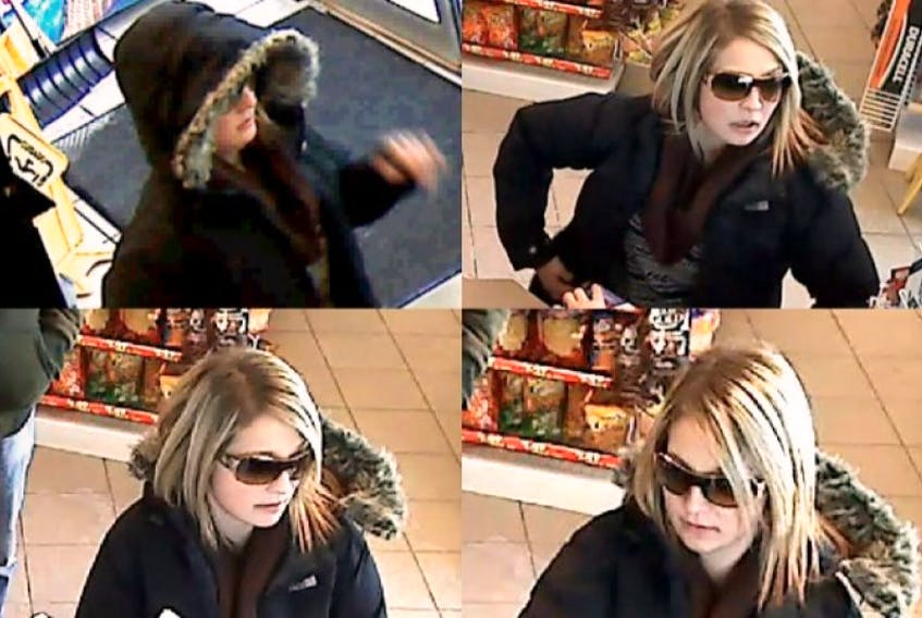Halifax Police are looking for this woman, who is suspected of using a stolen credit card.