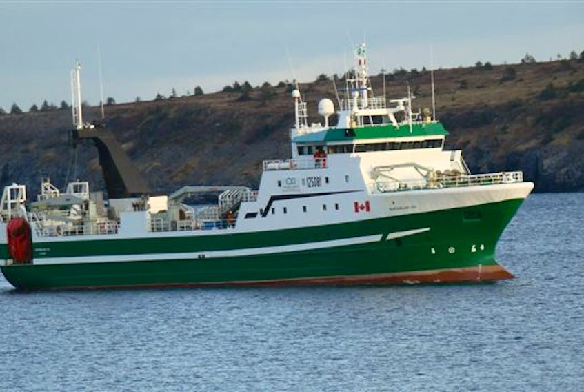 The Newfoundland Lynx, owned by Ocean Choice International, arrived in St. Anthony this morning, Thursday, Jan. 30, following a fire aboard the ship yesterday afternoon. CONTRIBUTED