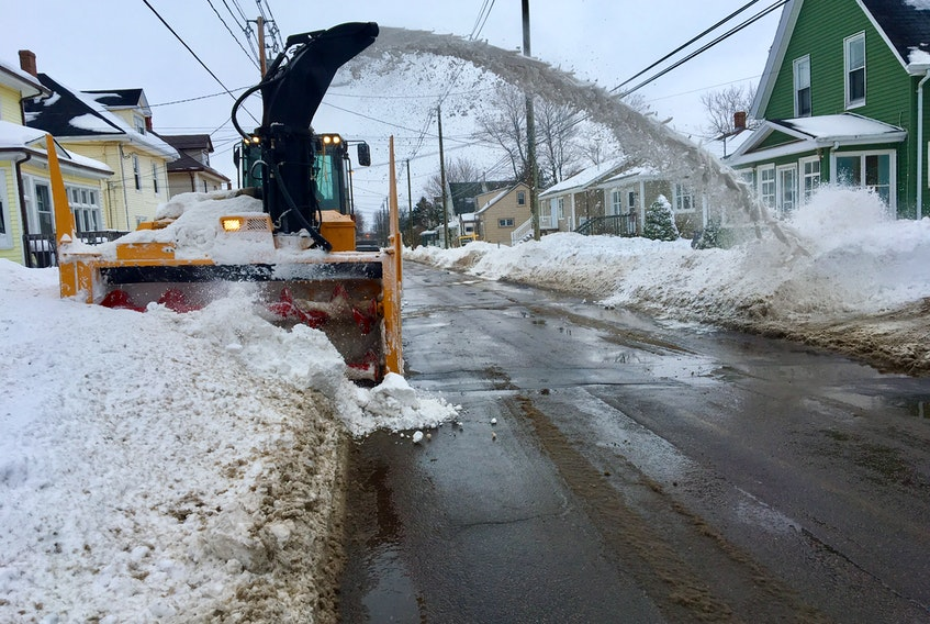 Greg Gaudet, director of municipal services in Summerside, said city officials have been working hard to make sure services such as late winter snow removal get done while adhering to the chief public health officer's order for social distancing.