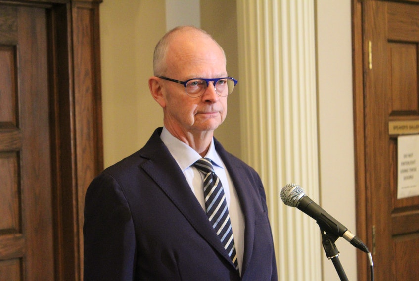 Progressive Conservative Leader Ches Crosbie says the province has to fight to get its fair share of funding from the federal government. TELEGRAM FILE PHOTO