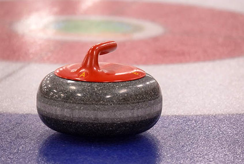 Curling stone.