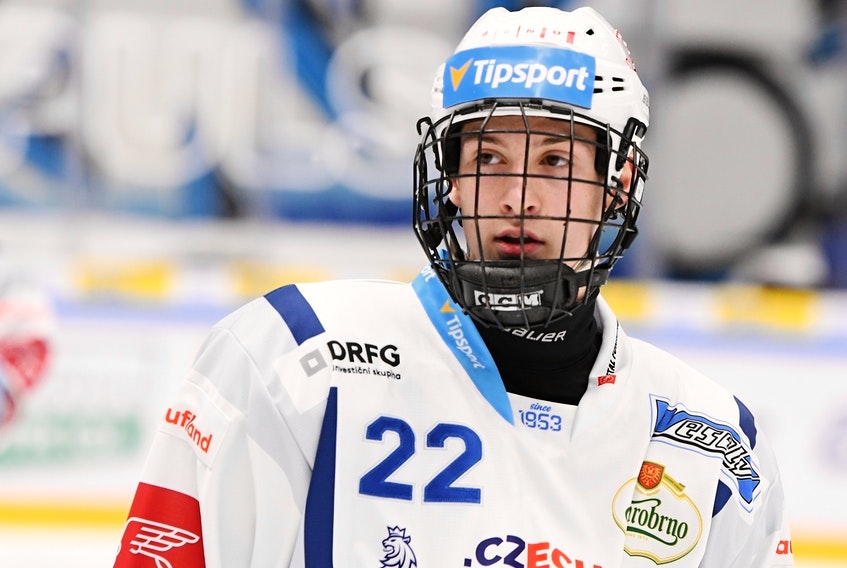 Czech centre Jakub Brabenec was the Charlottetown Islanders' top pick in the Canadian Hockey League import draft in June.