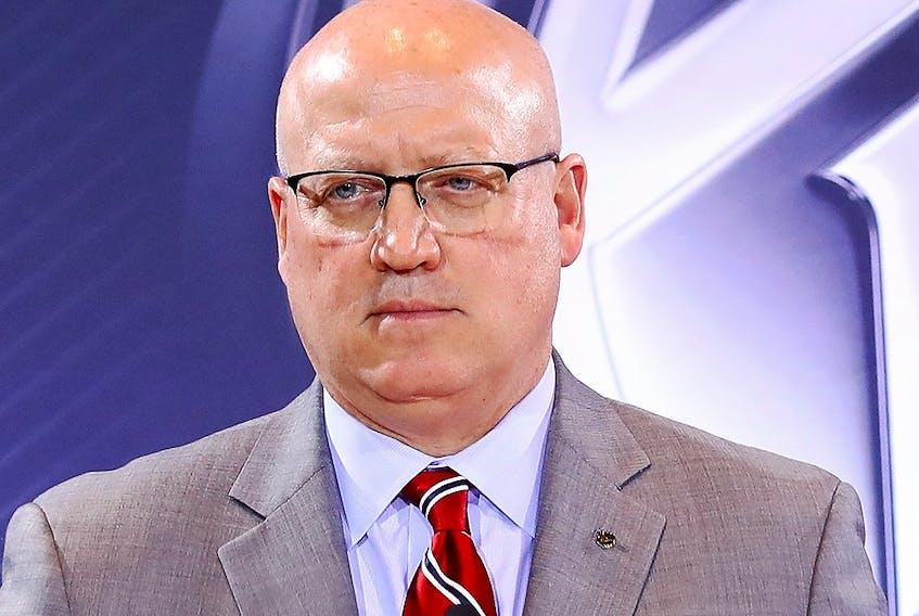 Deputy NHL commissioner Bill Daly.