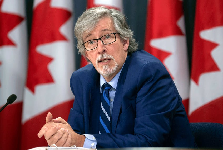 """Privacy Commissioner Daniel Therrien: """"I'm also concerned that the conditions for a strong foundation for digital economies in Canada are not there at this point."""""""