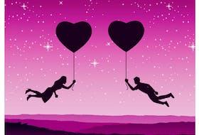 dating stock illustration