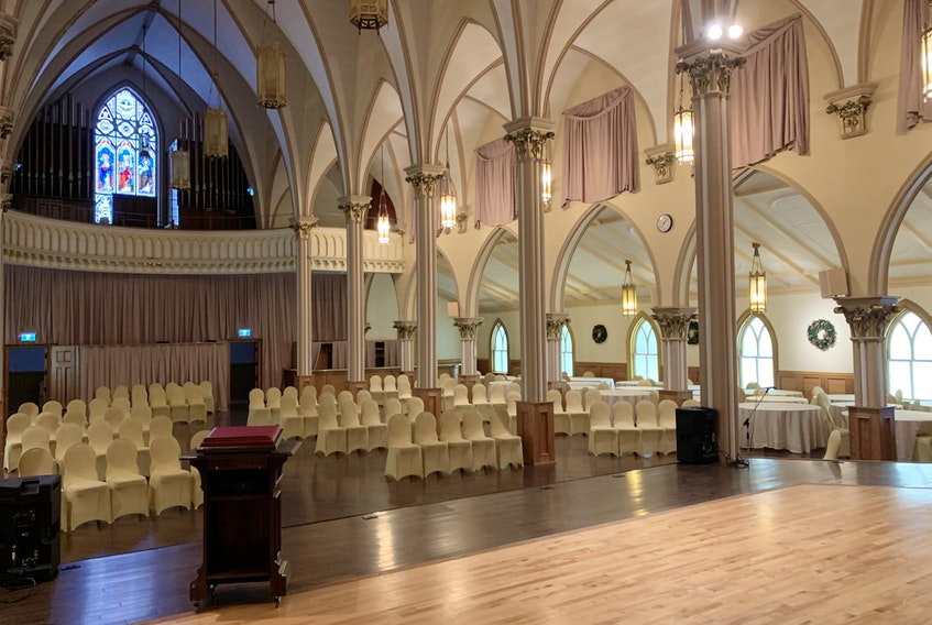 CBRM council is expected to amend a bylaw next week which will allow the former Sacred Heart church in Sydney, above, to be converted into an elegant business and entertainment hall. But columnist David Delaney feels much more could be done to encourage more business development. CONTRIBUTED