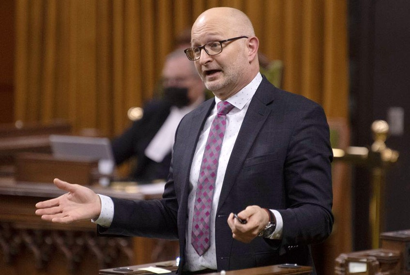 Minister of Justice and Attorney General of Canada David Lametti responds to a question during Question Period in the House of Commons Tuesday Dec. 8, 2020 in Ottawa.