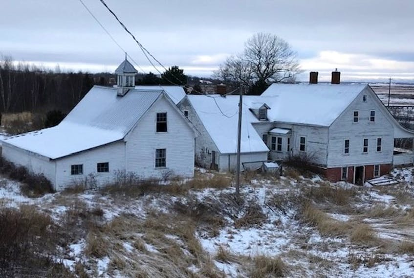 This is how the historic Reid House in Avonport appeared prior to its demolition. FILE PHOTO
