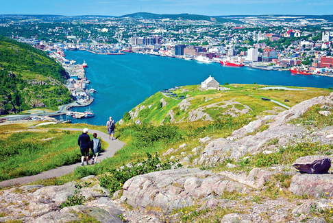 A city on the edge of nature, St. John's has everything you need for the perfect staycation. - Photo Contributed.