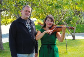 Steve Power is production manager and Heather Kao is concertmaster with the Newfoundland Symphony Orchestra. Despite having to cancel this fall's live performances because of COVID-19, the couple is excited to move to the digital realm, where anyone with an internet connection and a subscription will be able to experience a concert. — Andrew Waterman/The telegram