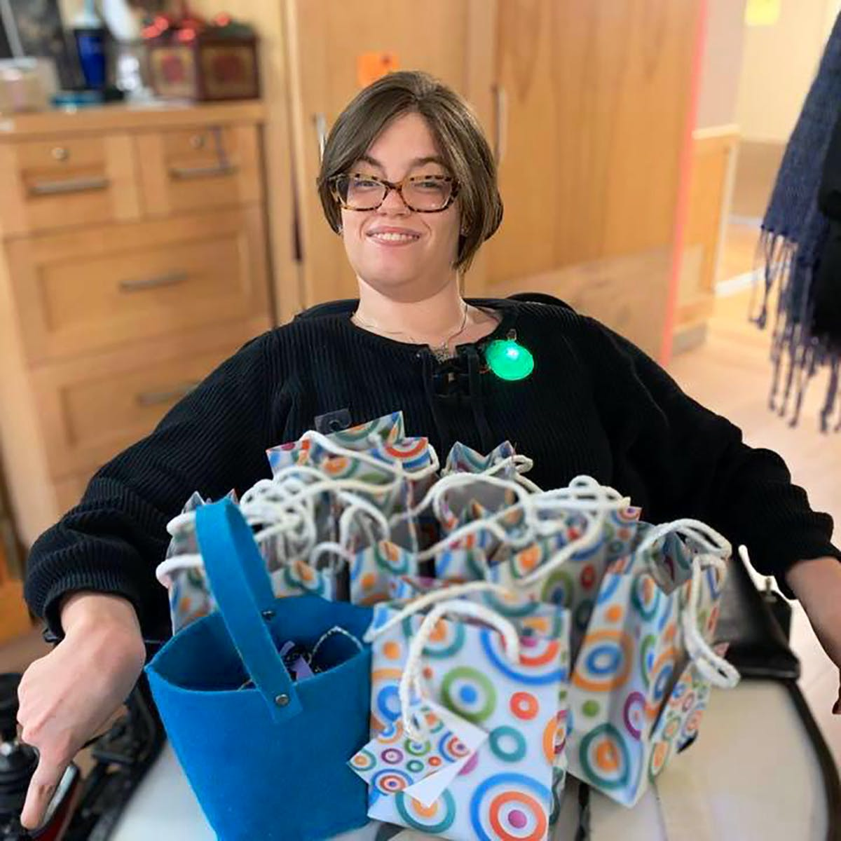 Vicky Levack, 29, a resident at Arborstone Enhanced Care nursing home in Halifax, says the province must do more to protect disabled people living in institutions from the threat of COVID-19.