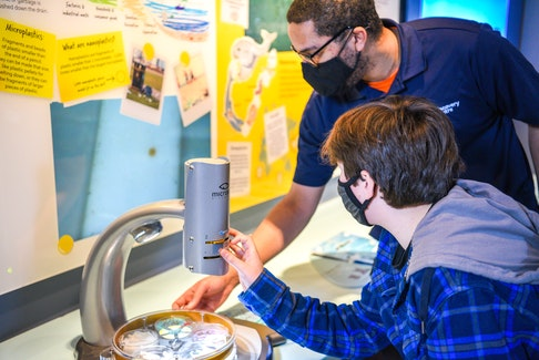 The Discovery Centre has joined forces with Divert NS to create a new permanent exhibit on ocean waste. - Photo Contributed.