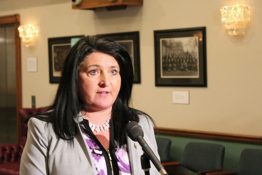 Status of Women Minister Carol Anne Haley