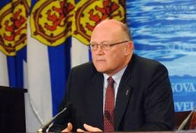 ['Dr. Robert Strang is the chief public health officer of Nova Scotia.']