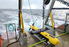 One of the products developed by Kraken Robotics is the Katfish, a high-speed device used to map the ocean bed in in ultra-high definition.