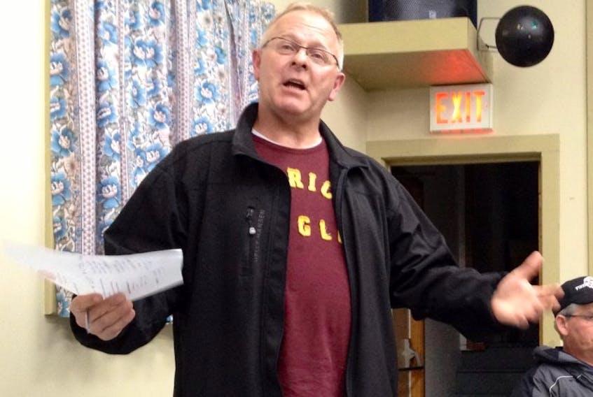 Barrington Municipal Warden Eddie Nickerson.