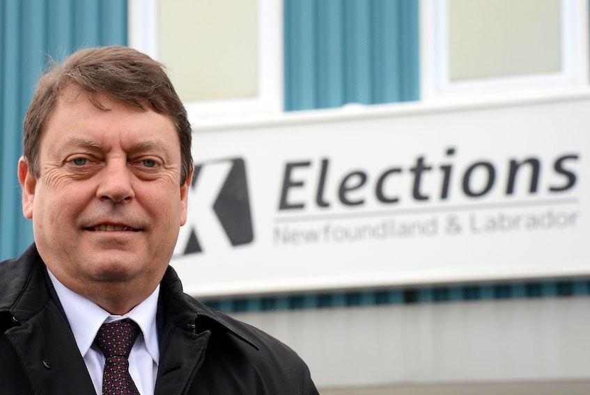 Newfoundland and Labrador Chief Electoral Officer Bruce Chaulk  Keith Gosse/The Telegram