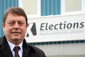Newfoundland and Labrador Chief Electoral Officer Bruce Chaulk.  Keith Gosse/The Telegram