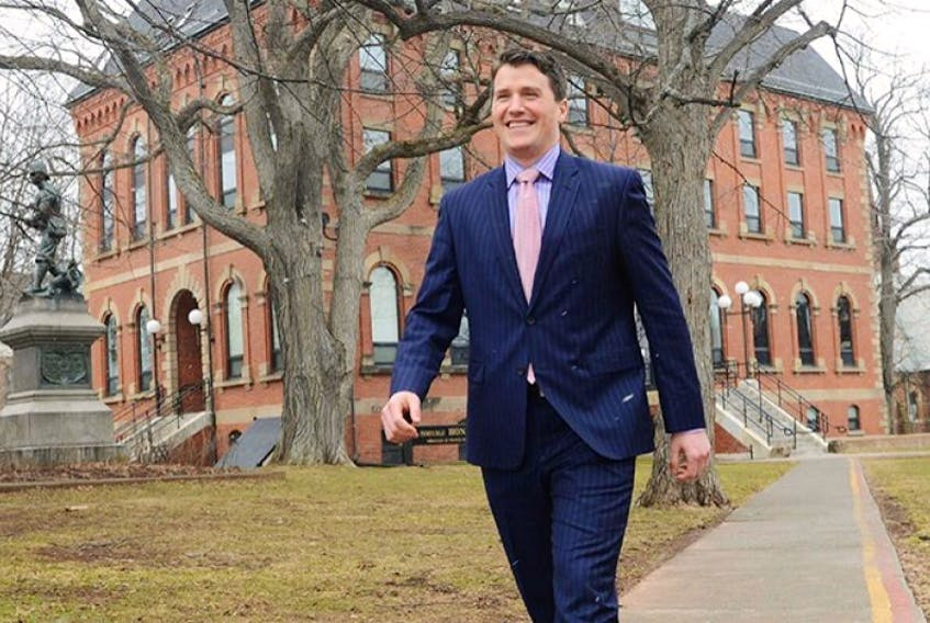 Jordan Brown, MLA Charlottetown Brighton, is the new minister of Education, Early Learning and Culture. File photo
