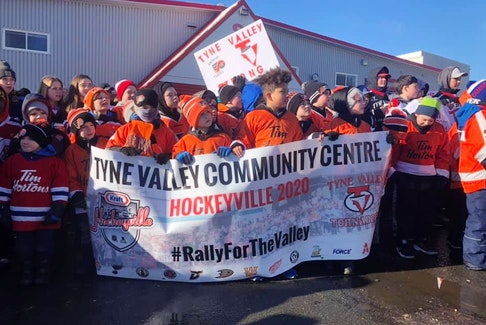 Among Eric McCarthy's fond memories covering the West Prince area in P.E.I. was the community effort to support the Tyne Valley rec centre after a fire destroyed the building in December 2019.