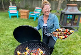 Weekend vibes! Kabobs on the grill is the perfect summer recipe. — Paul Pickett photo