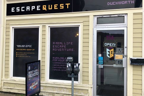 Escape Quest is located at 156 Duckworth St. in St. John's. - Contributed.