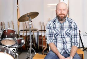 Carter Chiasson is the winner of the MuisCounts teacher of the year award. Chiasson is the director of music at Allison Bernard High School in Eskasoni First Nation. Contributed • MusiCounts