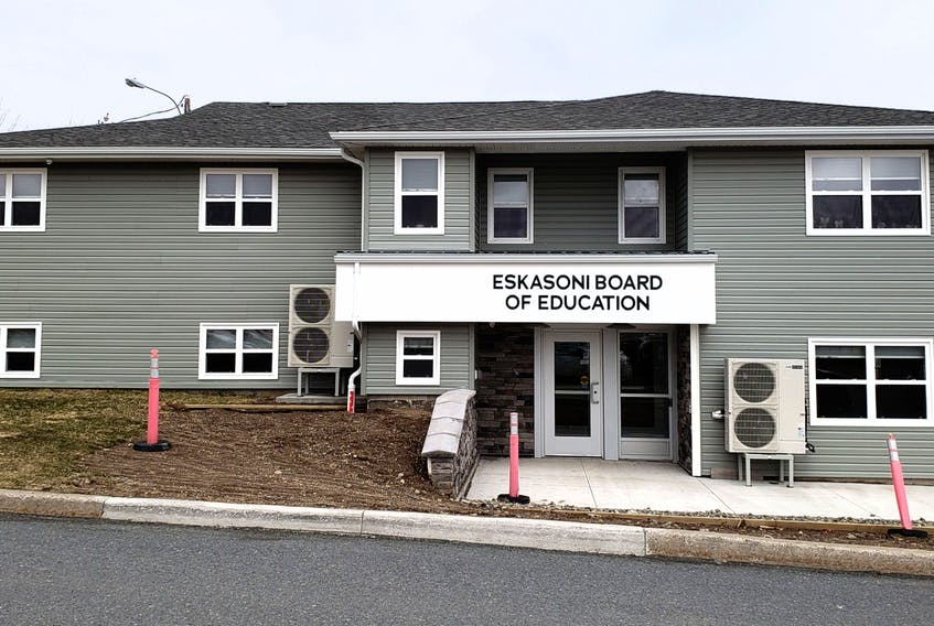 The Eskasoni School Board says its 1,100 students are required to wear a masks while in classes at the community schools. CONTRIBUTED