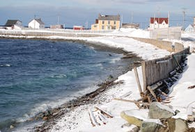 These areas at Newman's Point and Mockbeggar are just some of those left exposed after the blizzard earlier in January. JONATHAN PARSONS/THE PACKET