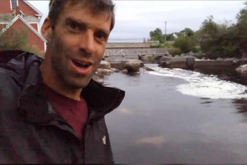 Have you noticed that the water levels are especially high today? These are the perigean spring tides. They occur one to two days after a new or full moon when the moon is at perigee (closest to Earth) Check this video out: shot by Darren Hudson along the Barrington River, NS :