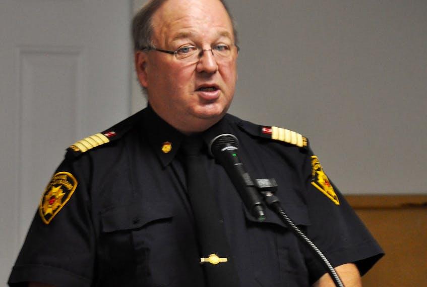 Port aux Basques fire chief Jerry Musseau.