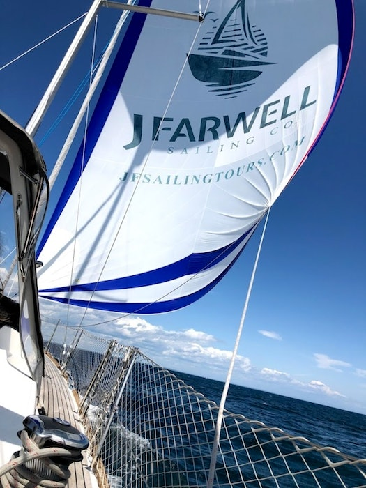 The J Farwell Sailing Co. offers several options out of Halifax Harbour, including charters and sunset wine and cheese tours.  - Contributed