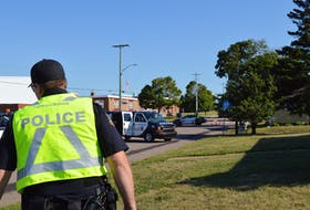 Summerside Police Services investigate a fatal collision between a vehicle and a pedestrian Thursday morning.