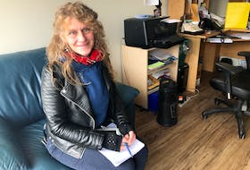 Giulia DiGiorgio at the Ally Centre in Sydney, where she works as a program co-ordinator. She is also the chair of the Cape Breton Association of People Empowering Drug Users. NICOLE SULLIVAN • CAPE BRETON POST