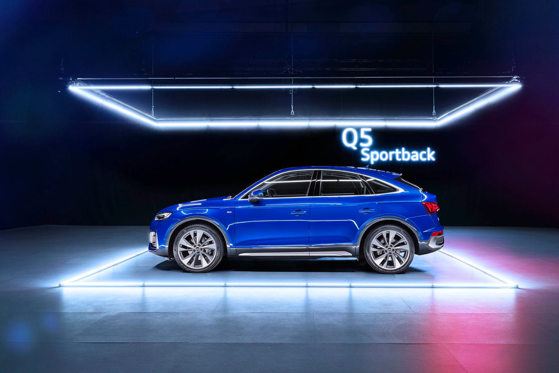The Q5 Sportback will be available sometime during the first half of 2021. Audi / Handout
