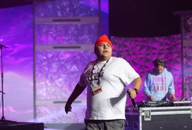 Eskasoni-based hip-hop artist SHiFT FROM THA 902 performs with DJ Dane Richard on the APTN Indigenous Day Live Winter Solstice concert series, airing Dec. 21 to 25 at noon and 6 p.m.