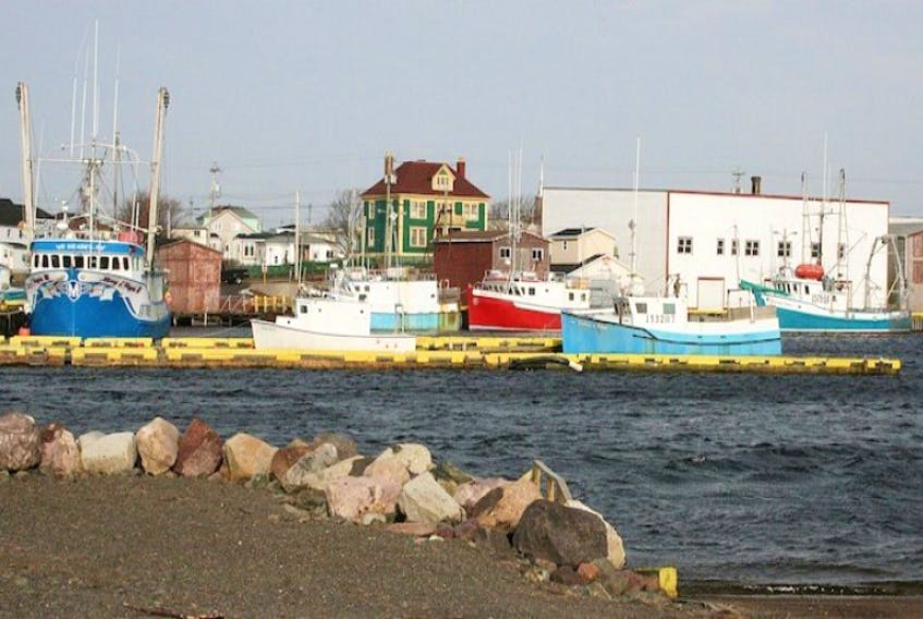 Grand Bank harbour.