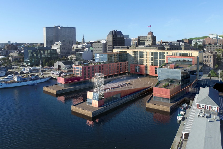 A new 110 room, five-star hotel is expected to open on the Halifax waterfront in 2021.